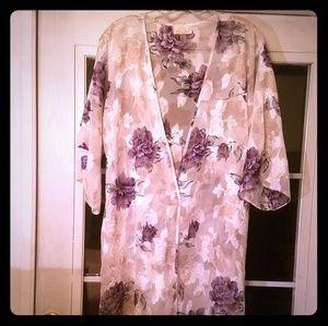 LA Intimates Floral Robe